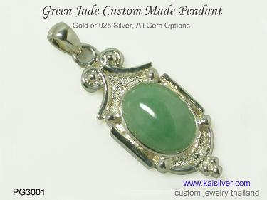 jade pendant made to order