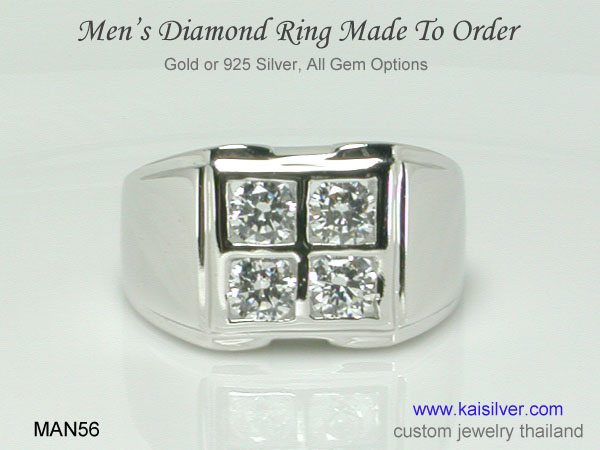 kaisilver diamond rings