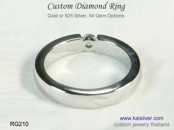 diamond ring custom
